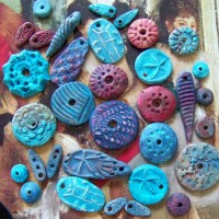 Clay, Wire, and Beads