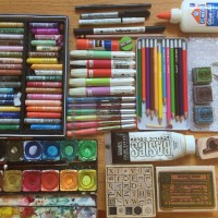 Art Journaling On The Move