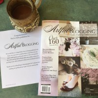 Published In Artful Blogging!